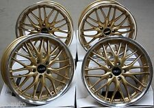 "18"" CRUIZE 190 GOLD ALLOY WHEELS FIT LAND ROVER FREELANDER 98-06"