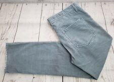 Gap 1969 Sexy Boyfriend Corduroy Pants Sz 27 Women Gray Blue