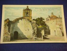 Mission De La Conceptcion De Purisima San Antonio Vintage Colorful Postcard PC6
