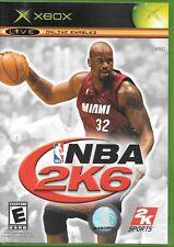 NBA 2K6 (Microsoft Xbox 360, 2005) W/Manual