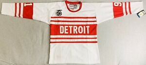 1991 Sergei Fedorov Detroit Red Wings 75th Anniversary Jersey Size Men's Large