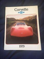 1979 Chevy Chevrolet Corvette C3 Original Color Brochure Prospekt