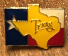 State Of Texas on Lone Star Flag Souvenir Collectible Lapel Hat Pin Pinback