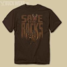 Breast Cancer Awareness Save the Racks T-Shirt, Brown
