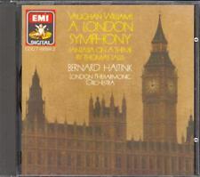 "VAUGHAN WILLIAMS - Symphony 2 ""London"" / Tallis Fantasia - Bernard HAITINK - EMI"
