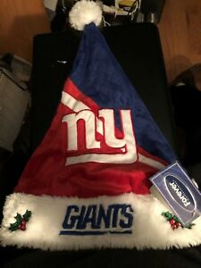 New York Giants Santa Hat New Sweet Looking Makes Great Gift