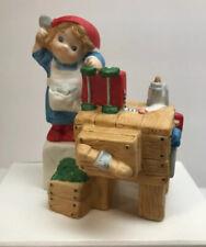 Vintage 1984 Hallmark Porcelain Figurine Make this Christmas your Merriest!