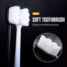 Adult Children Nano Ultra-fine Wave Toothbrush Soft Bristle Oral Care Clean USA