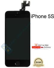 Para iPhone 5S Negro Digitalizador LCD con pantalla táctil de repuesto + botón de inicio + Cámara