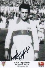 Knut Tagliaferri  VfB Stuttgart 1954-60  DFB-Pokalsieger 1958  TOP-Foto