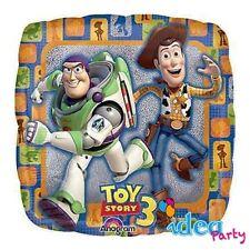PALLONCINO mylar TOY STORY, 45 cm quadrato, Addobbi Festa Compleanno Disney