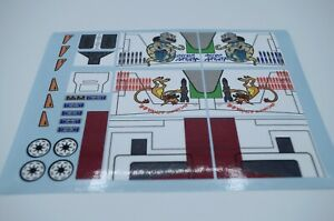 Custom Replacement Stickers for Star Wars Republic Attack Gunship 7676
