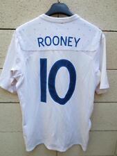 VINTAGE Maillot ANGLETERRE Umbro ENGLAND shirt ROONEY 10 rétro 40 M