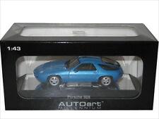 PORSCHE 928 BLUE DIECAST CAR MODEL 1/43 BY AUTOART 57811