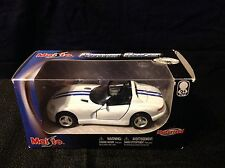 Maisto  Power Racer Die-Cast Metal Motorized Dodge Viper Convertible Appox 1:43