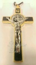 St. Benedict Crucifix Cross Gift Boxed Black