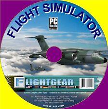 FlightGear Pro avion simulateur de vol, inc 150 + avions à voler bon sim nouveau