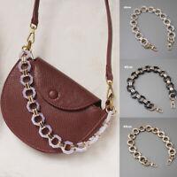 DIY Replacement Acrylic Resin Chain Shoulder Strap Handbag Accessory Bag Decor
