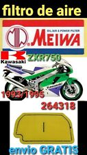 KAWASAKI ZXR750 1993/1995 FILTRO AIRE MIW MEIWA 264318