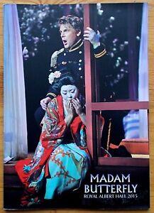 Madam Butterfly programme Royal Albert Hall 2015 Hyeseoung Kwon Nam-young Kim