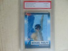 2004 Michael Phelps  Rookie  Review  1st Graded  $400 swiming Olympic