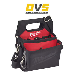 Milwaukee 48228112 Electricians Work Nylon Pouch with Quick Adjustable Belt