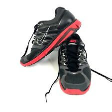 f9a8ddb90941 Nike Lunarglide 2 Mens Shoes size 10 407648-066 Black Red Athletic Nike+  plus