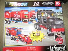 New K'Nex Nascar Building Set: #14 Toyn Stewart Racing Transporter Rig 270pc
