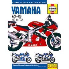 Yamaha YZF-R6 1999-2002 Haynes Workshop Service Manual