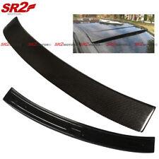 Rear Carbon Fiber Window Visor Roof Spoiler Wing for 96-03 BMW E39 5 Series