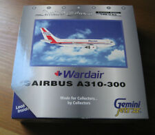 Wardair Airbus A310-300 Gemini Jets II C-GIWD 1:400 model plane in box Canada