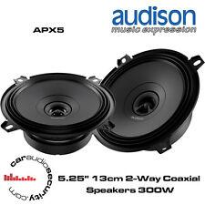"Audison APX5 - 5.25"" 13cm 2-Way Altavoz Puerta Altavoces De 300 vatios de potencia total"