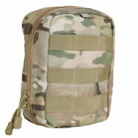 Tactical 1st Aid Gear Soldiers Medic IFAK Trauma Kit Large MOLLE Pouch MULTICAM