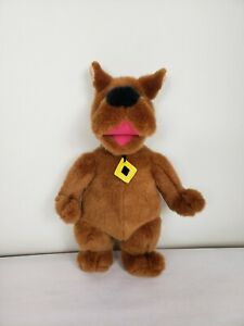 "Warner Brothers Scooby Doo 18"" Plush Vintage 1998 Dog Electronic Laugh Stuffed"
