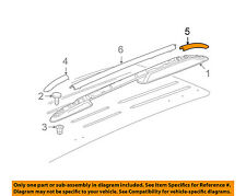 GM OEM Roof Rack Rail Luggage Carrier-Rear Cover Left 25821183