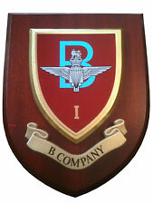 1 Parachute B Company Wall Plaque 1 Para  B Hand Made for MOD Regimental