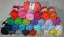 (2,80€/100gr) 50 gr Cotton 8 von G-B weiche, dünne 100% Baumwolle Farbwahl