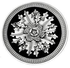 Fibbia Cintura Celtica Acorn & Oak Leaf Design Circolare Autentico Dragon Designs