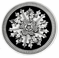 Celtic Belt Buckle Acorn & Oak Leaf Design Circular Authentic Dragon Designs