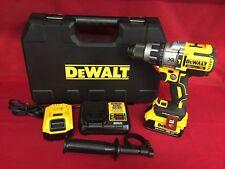 DEWALT 20V MAX XR Cordless Premium Brushless Hammer DriLl Kit DCD996 4.0 Kit [A]