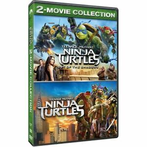 Paramount Pictures Teenage Mutant Ninja Turtles 2-Movie Collection (DVD)