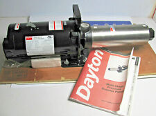 DAYTON 45MW69 Multi-Stage Booster Pump,3-Phase