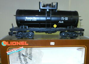 Lionel G Gauge #8-87601 ATSF Sante Fe Single Dome TANK CAR ~ Exc. w/OB