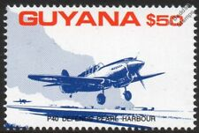 Curtiss P-40 WARHAWK Defends Pearl Harbor WWII Aircraft Stamp