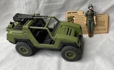 New listing Vintage 1982 G.I. Joe Vamp Vehicle w/ Straight-Armed Clutch Figure & File Card