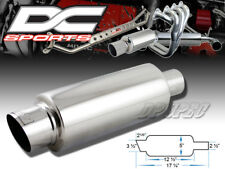 "Dc Sports 3.5"" Stainless Steel Exhaust Performance Muffler For Acura Honda"