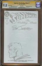 Superman: The Wedding Album #1 Coll Ed CGC 9.8 SS JURGENS w/Sketch 0900680012