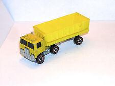 1974 Hot Wheels Redline Road King Mountain Mining Cab & ORIGINAL Trailer! SHOWS