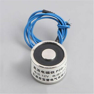 12V DC Sucked Type Electric Lift Lifting Holding Magnet Electromagnet Solenoid
