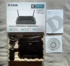 ADSL MODEM Router Wireless N300 ADSL2+ - D-Link DSL-2750B - COME NUOVO / AS NEW